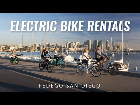 Electric Bike Rentals and Tours | San Diego, California | Pedego San Diego