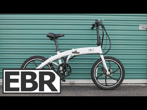JOLT eBike Video Review - $2k Indiegogo Folding Electric Bike