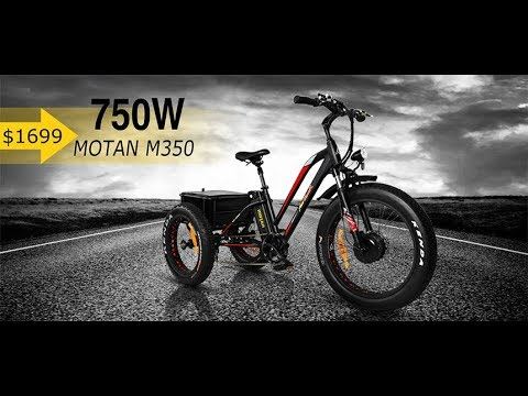 MOTAN M-350: First Fat Tire Electric Tricycle
