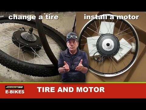HOW TO:  Change an Ebike Tire and Install a Rear Hub Motor