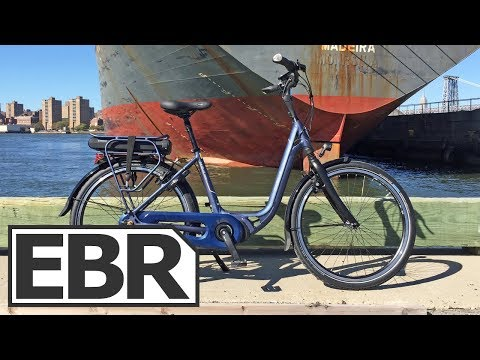 Gazelle Avenue C8 Video Review - Approachable, Relaxed, Comfortable Electric Bicycle