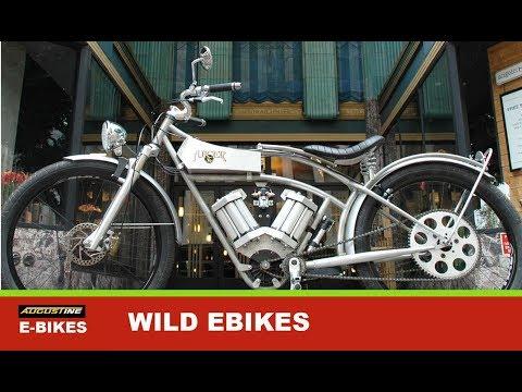Wild, Crazy custom Electric Bikes