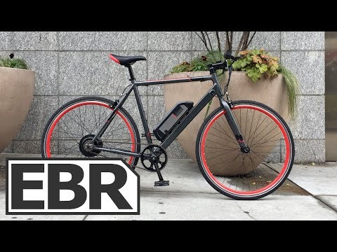 Schwinn Monroe 250 Video Review - $1.2k Affordable, Lightweight, Single Speed Electric Bike