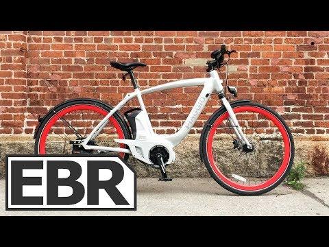 Piaggio Wi-Bike Active Plus Video Review - $4k NuVinci Harmony Auto Shift Ebike