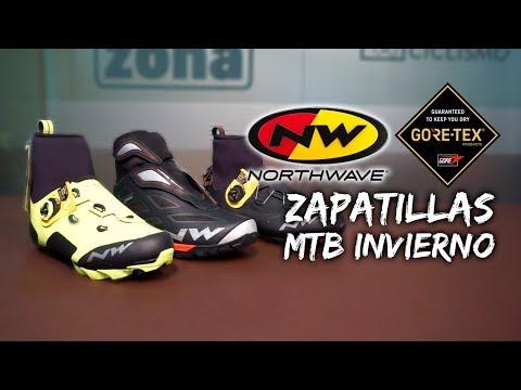 Zapatillas de invierno para MTB con GORE-TEX de NORTHWAVE