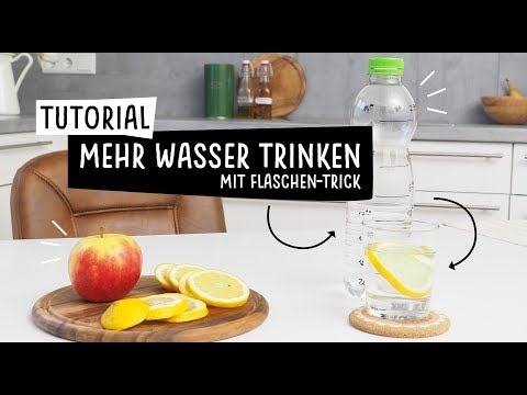 tutorial mehr wasser trinken mit flaschen trick. Black Bedroom Furniture Sets. Home Design Ideas