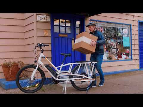 2018 RadWagon Electric Cargo Bike - EBike From Rad Power Bikes