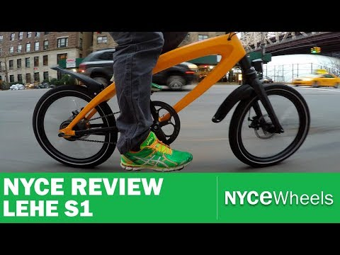 Lehe S1 Superlight Electric Bike Review!
