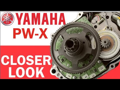YAMAHA PW-X eBike Motor: Closer Look