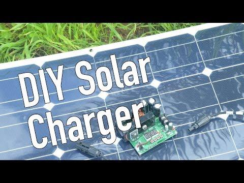 DIY Solar Battery Charger for Ebike or E-skateboard
