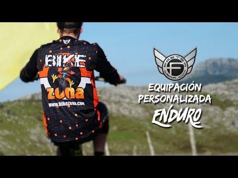 Equipación personalizada para Enduro de Faster Wear