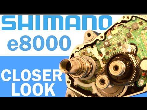 Shimano e8000 eBike Motor: Closer Look