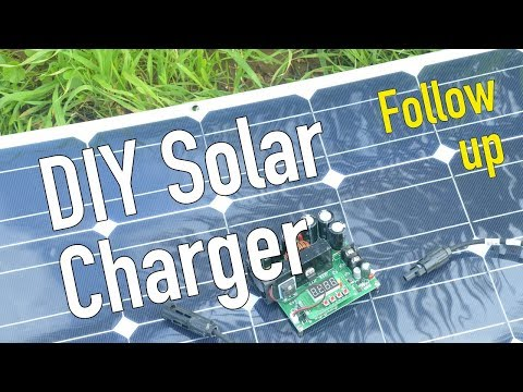 DIY solar charger followup / eskateboard / storing solar energy