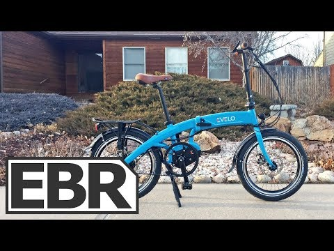 Evelo Quest Max Video Review - Folding, Gates Belt Drive, NuVinci N380, Ebike