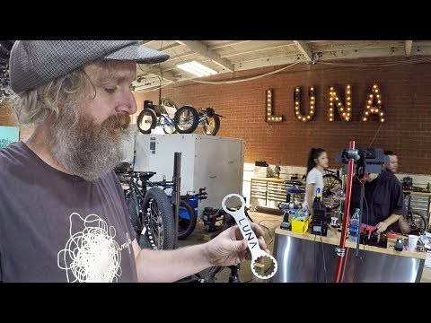 Luna Cycle Headquarter Visit, Interview with Eric Hicks, Founder