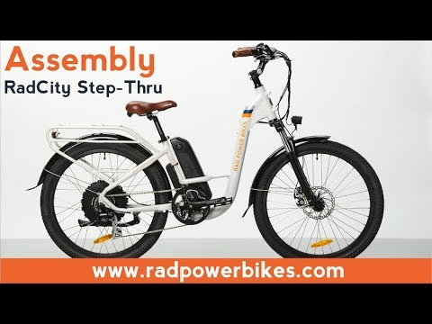 RadCity Step-Thru Assembly and Operations