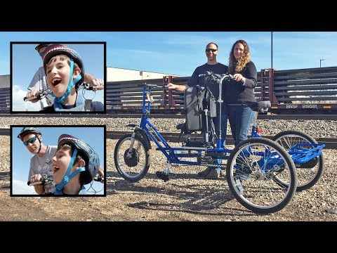 Electric Trike for Handicap Son (Dup15q), Freedom Concepts ET2611, Great Bike Giveaway