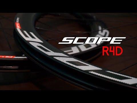 Para ganar todo lo que te propongas, ruedas SCOPE R4d para frenos de disco