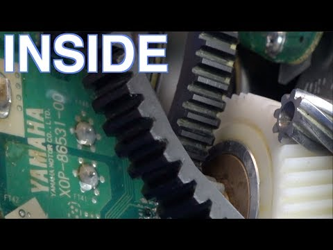 YAMAHA PW-X Glamor Shots | What's Inside eBike Motor