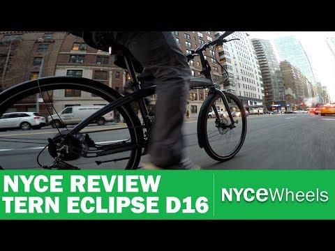 Tern Eclipse D16 - $999 Full Size, Hydraulic Disc Brake, Folding Bike Review