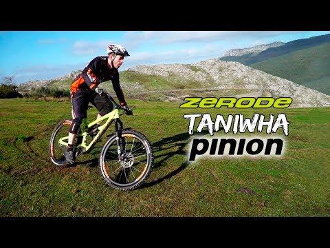 Enduro, carbono y Pinion se unen para crear la bestia: Zerode Taniwha Pinion