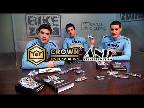 Crown Sport Nutrition y ANB Triatlón Team, unidos para la nueva temporada