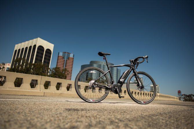Yamaha UrbanRush drop bar road bike electric bicycle e-bike ebike review test first look