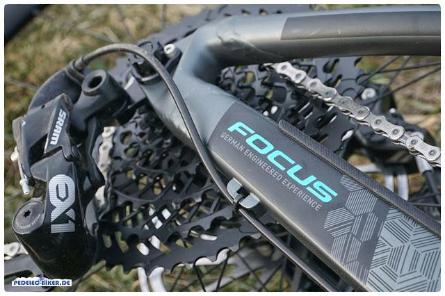 Die SRAM EX1 im Focus Sam² wurde speziell für eMountainbikes entwickelt und bietet deshalb einige sinnvolle technische Feinheiten.