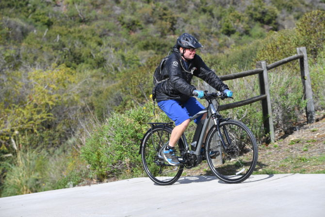 Yamaha CrossConnect electric bicycle e-bike review
