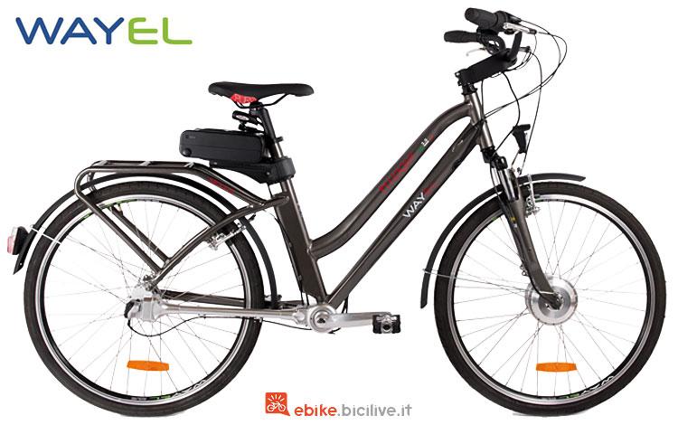 city ebike wayel con easy lock