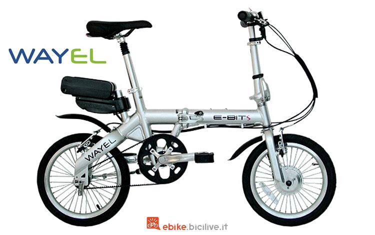 folding bike elettrica wayel bit 2018