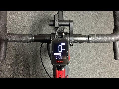 Brose Electric Bike Original LCD Display Settings
