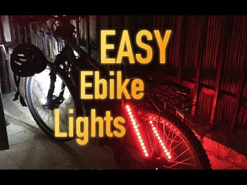 How to add LED light strips | EVnerds giveaway contents