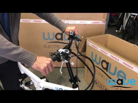 Folding Wave Electric Bike Unboxing