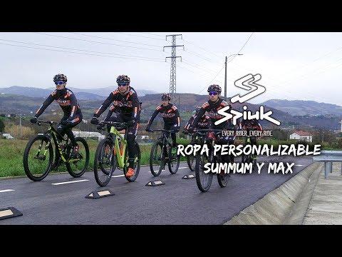 Ropa personalizable SUMMUM y MAX de SPIUK