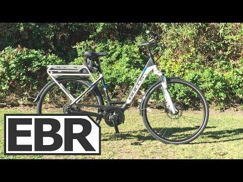 BULLS Cross E8 Video Review - $3.2k Utilitarian Ebike, Lights, Fenders, Rack