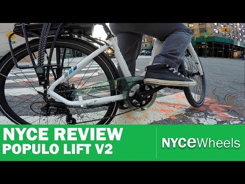 Populo Lift V2 - Affordable Step Through | Electric Bike Review