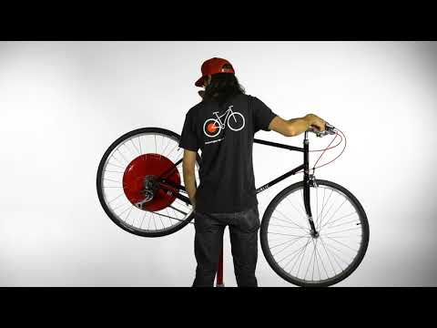 Copenhagen Wheel multi speed STAND REMOVAL