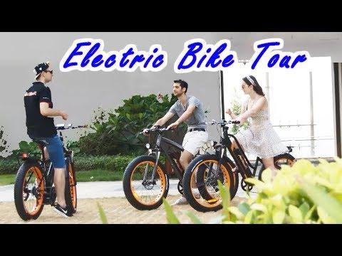 Electric Bike Tour- Addmotor E-bike