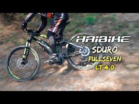 Domina cada salida con la e-bike HAIBIKE SDURO FullSeven LT 4.0