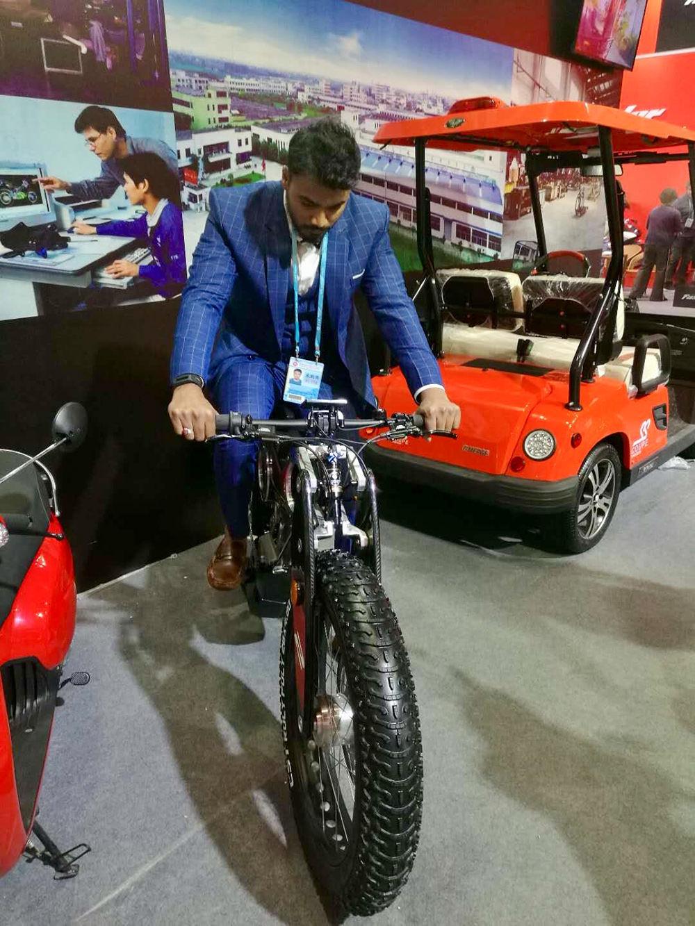 Moto Parilla Carbon Suv e-bike Asia -2