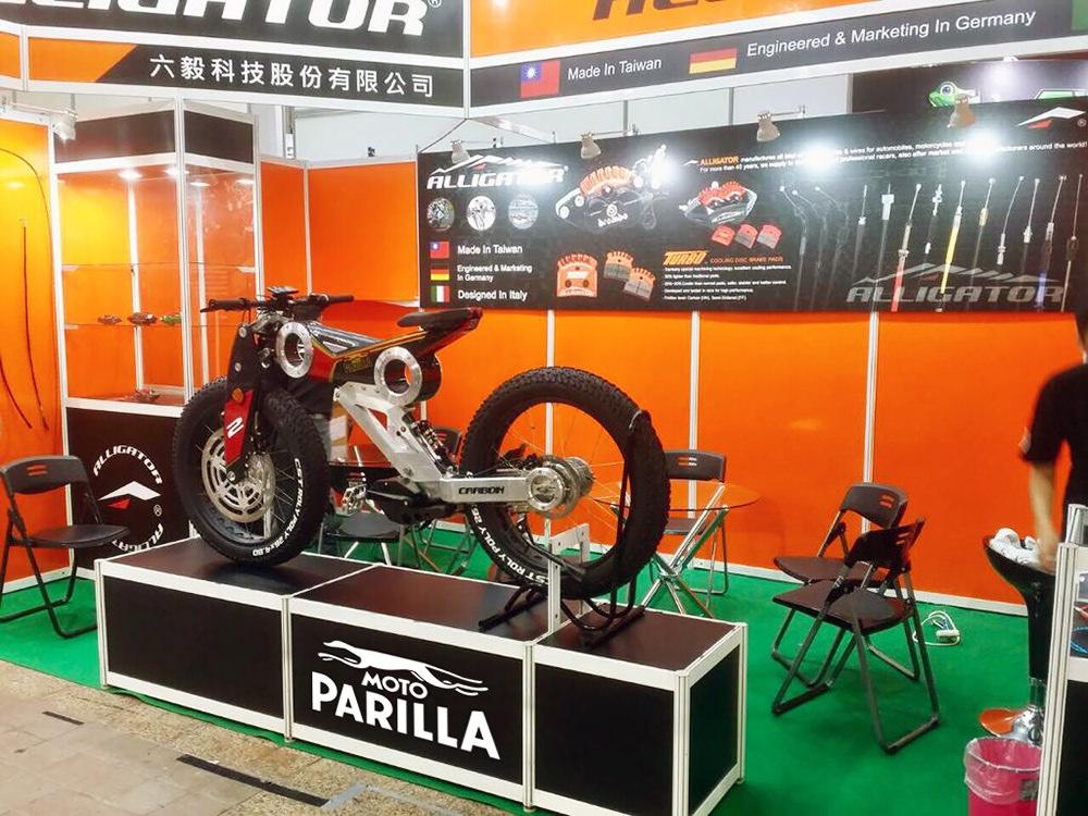 Moto Parilla Carbon Suv e-bike Asia -1