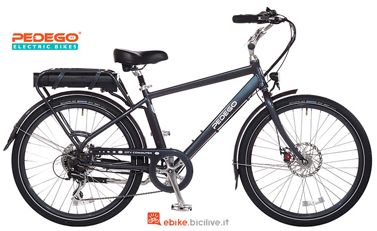 city ebike Pedego Classic City Commuter 2018