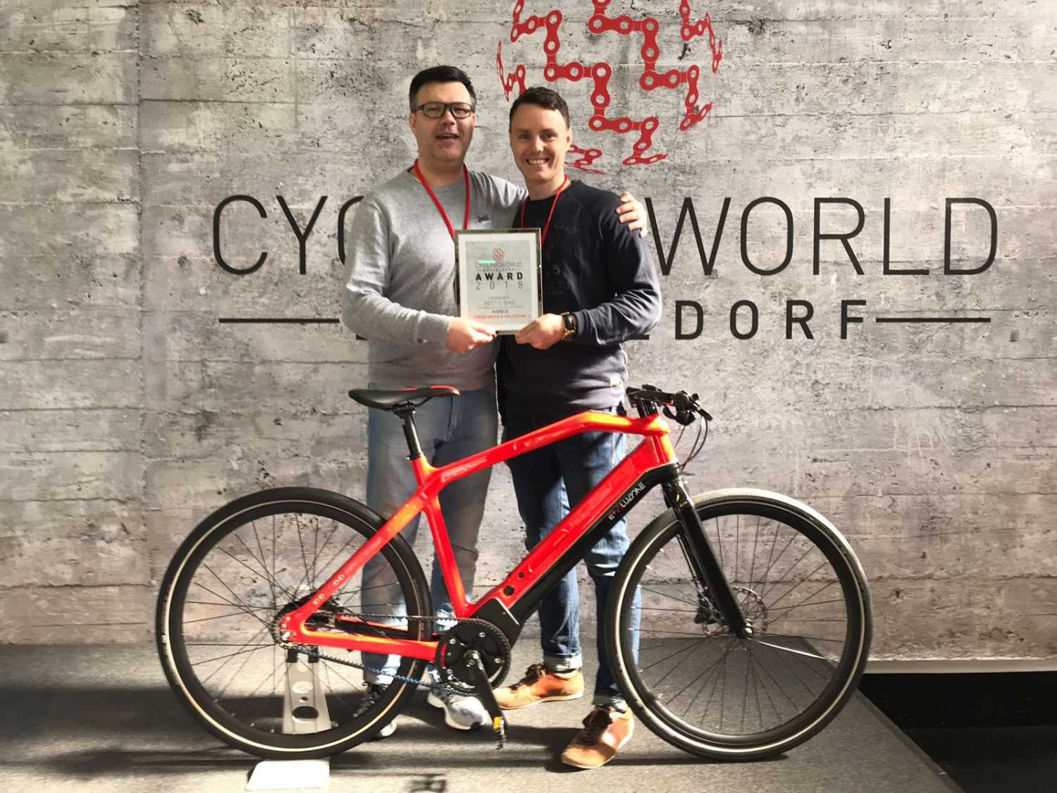 Pininfarina E-Bike Jahres 2018 Cyclingworld Award