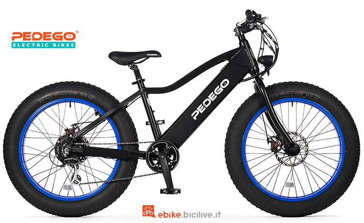fat ebike Pedego Trail Tracker 2018