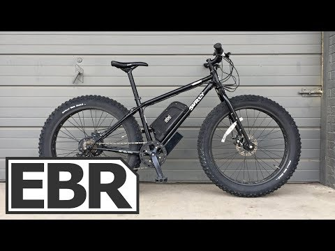 Electric Bike Outfitters Fat Tire Kit Video Review - $1.7k Powerful, Fast, Fat Tire Ebike