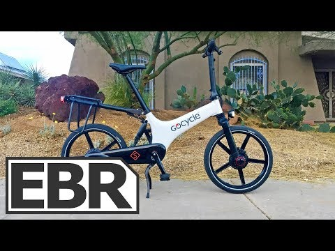 Gocycle GS Video Review - $2.8k Compact, Lightweight, Sporty Folding Electric Bike