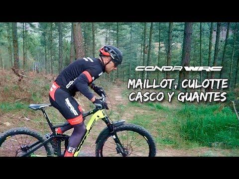 Maillot, culotte, casco y guantes CONOR WRC
