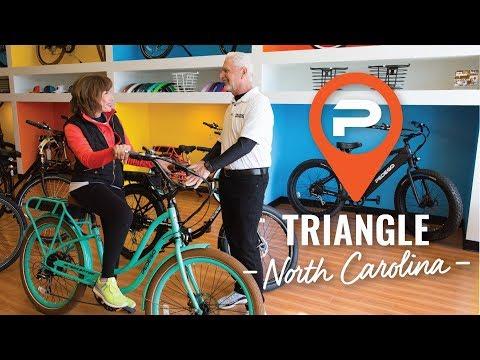Pedego Triangle | Electric Bike Store | Durham, NC