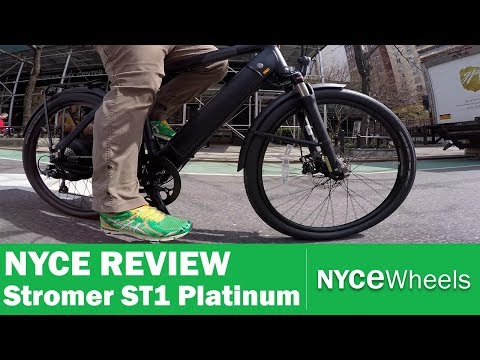 2018 Stromer ST1 Platinum | $2999 Speedy Electric Bike Review